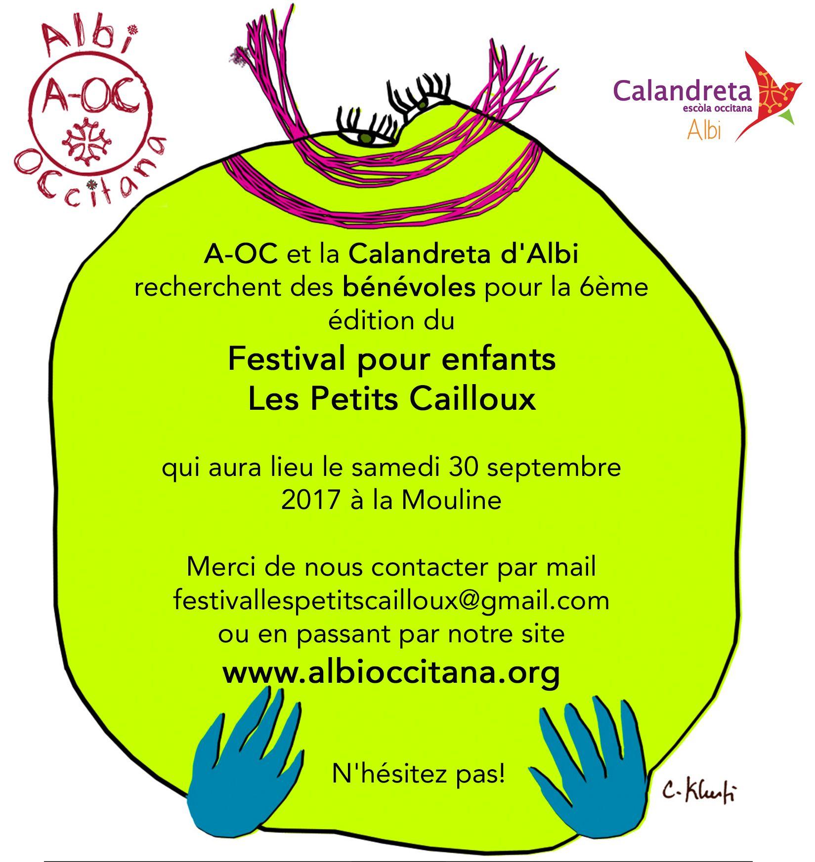 Recherche de bénévoles pour les Petits Cailloux