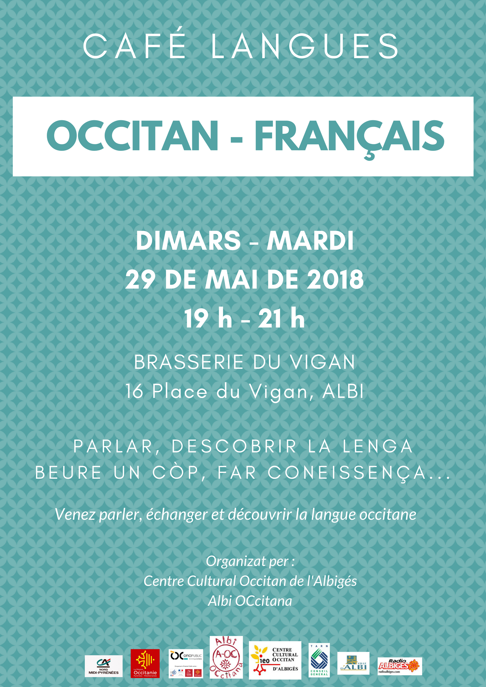 Cafè de las lengas francès/occitan