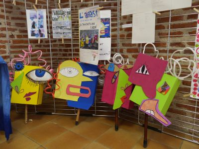 Les personnages créés par la Calandreta de Rodez ©