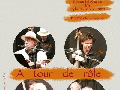 Les concerts d'A-OC